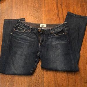 Paige skinny jeans; Size 29